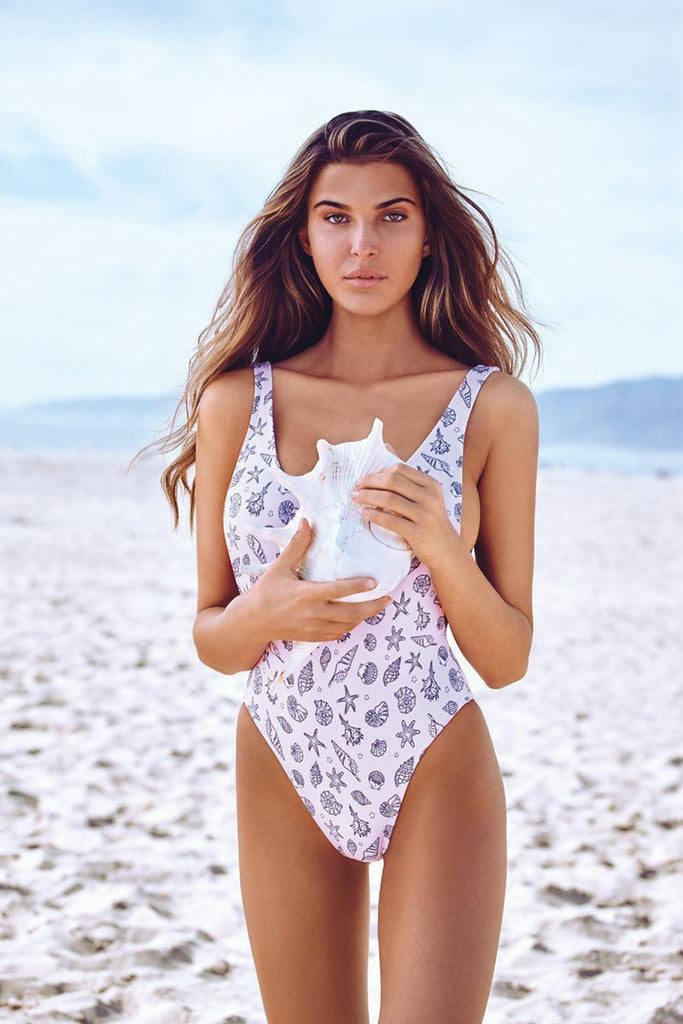 Chloe Rose Seashell Swimwear