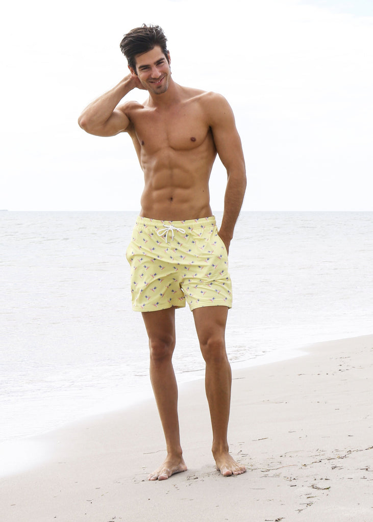 Tropical Mens Swim Shorts