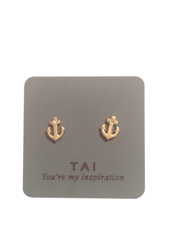 Tai Anchor Earrings
