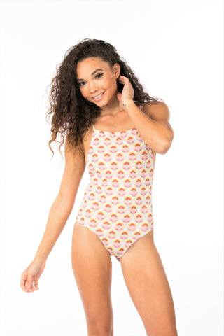 Lolli Swim Gia Low Back Scoop One Piece- Oldie