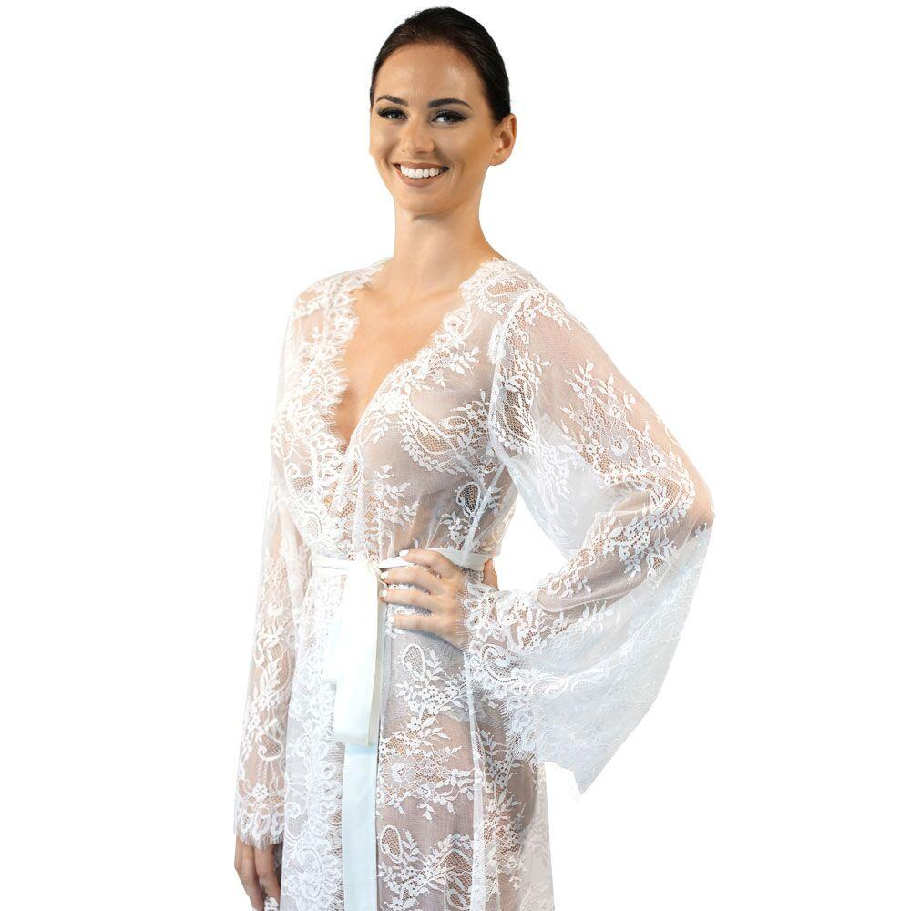 81433d884 white lace kimono Showcase luxury lace cover up ...