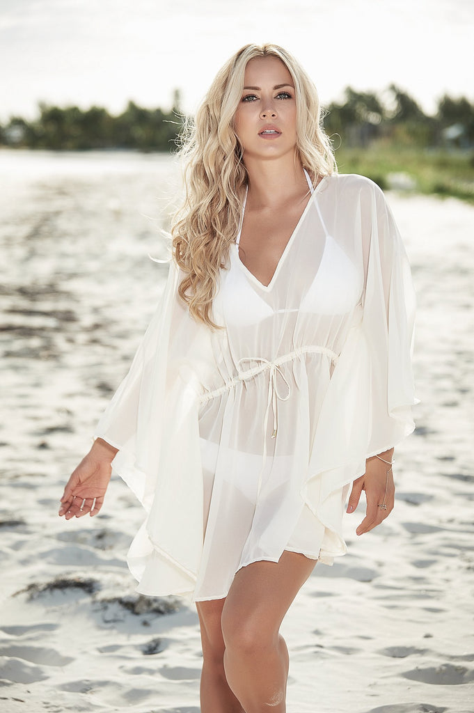 Sheer Beach Cover Up