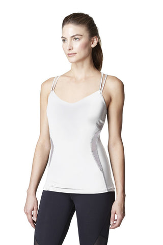 White Michi Tank Top - Lyra