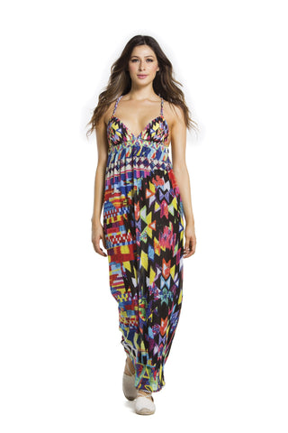 Agua Bendita Trama Dress