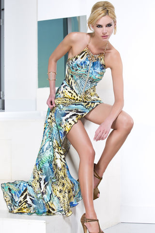 Baccio Couture Marilyn Silk Dress