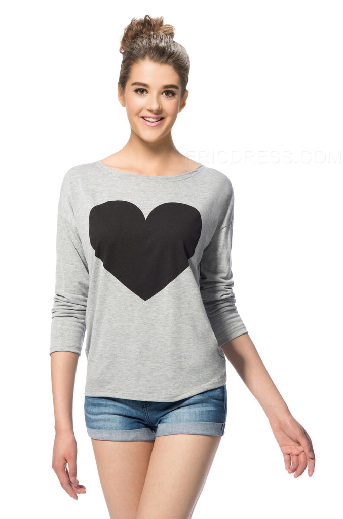 BIkini Luxe Heart Long Sleeve Shirt