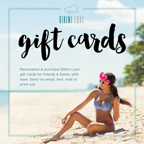 Bikini Luxe Gift Card - Giftcard of Luxury