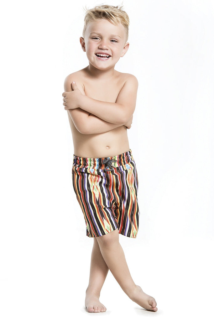 Agua Bendita Tasco - Boys Striped Swimsuit