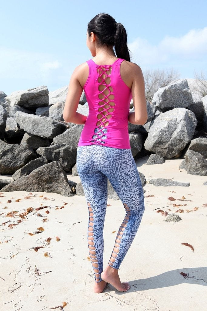 Caged Workout Leggings by Equilibrium Activewear