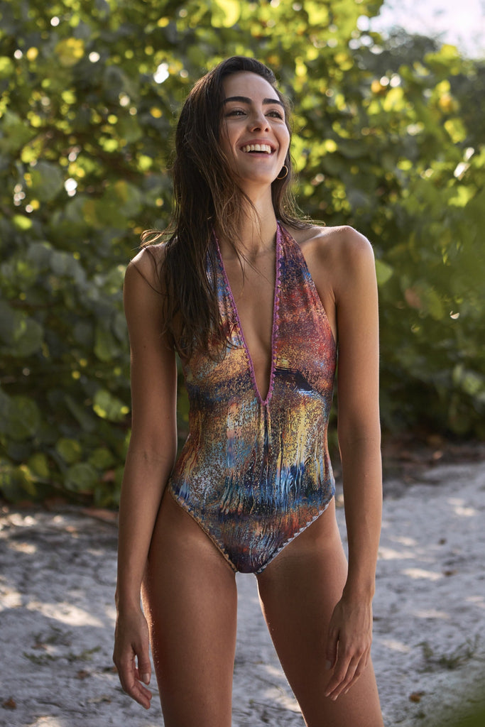 Capittana Luau Reversible One Piece