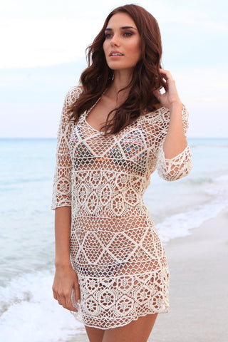 Gypsy Crochet Cover Up