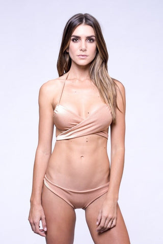 Dbrie Swim Bare Wrapped Lili Bikini Top