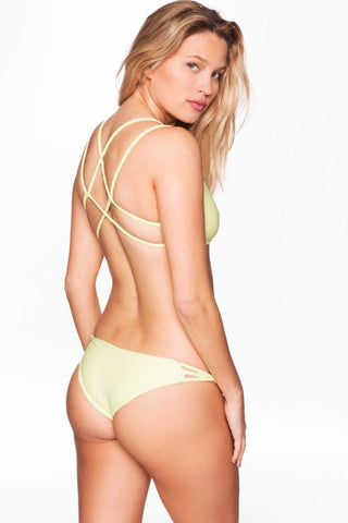 Frankies Bikinis Kaia Bottom - Lime