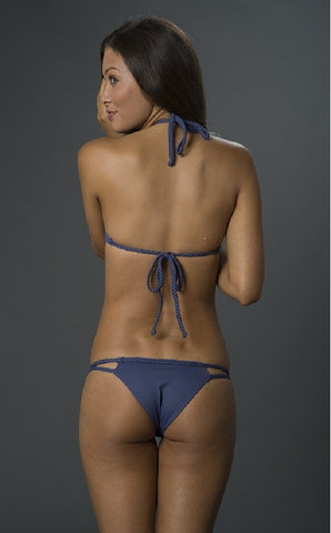 Frankies Bikinis Oceanside in Catalina Blue
