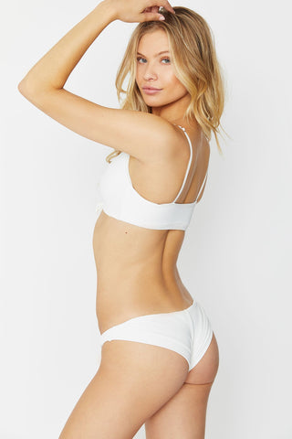 Frankies Bikinis Greer Bottom - White