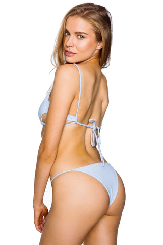 Frankie's Bikinis Willa Bottom - Cloud Blue