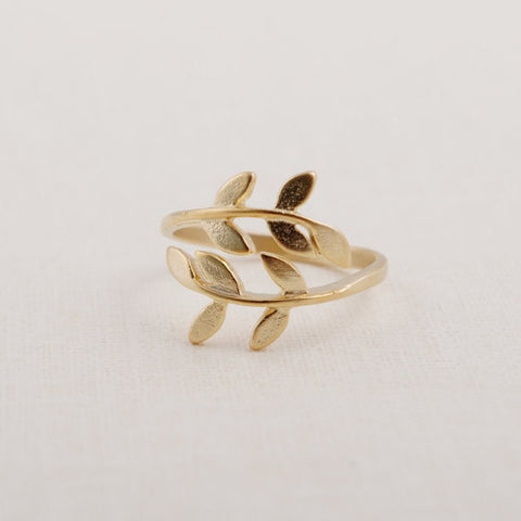 Gold Grecian Ring