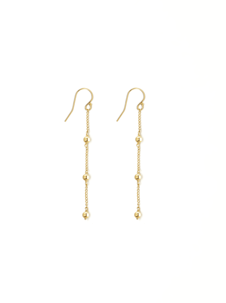 eclipse gold earring
