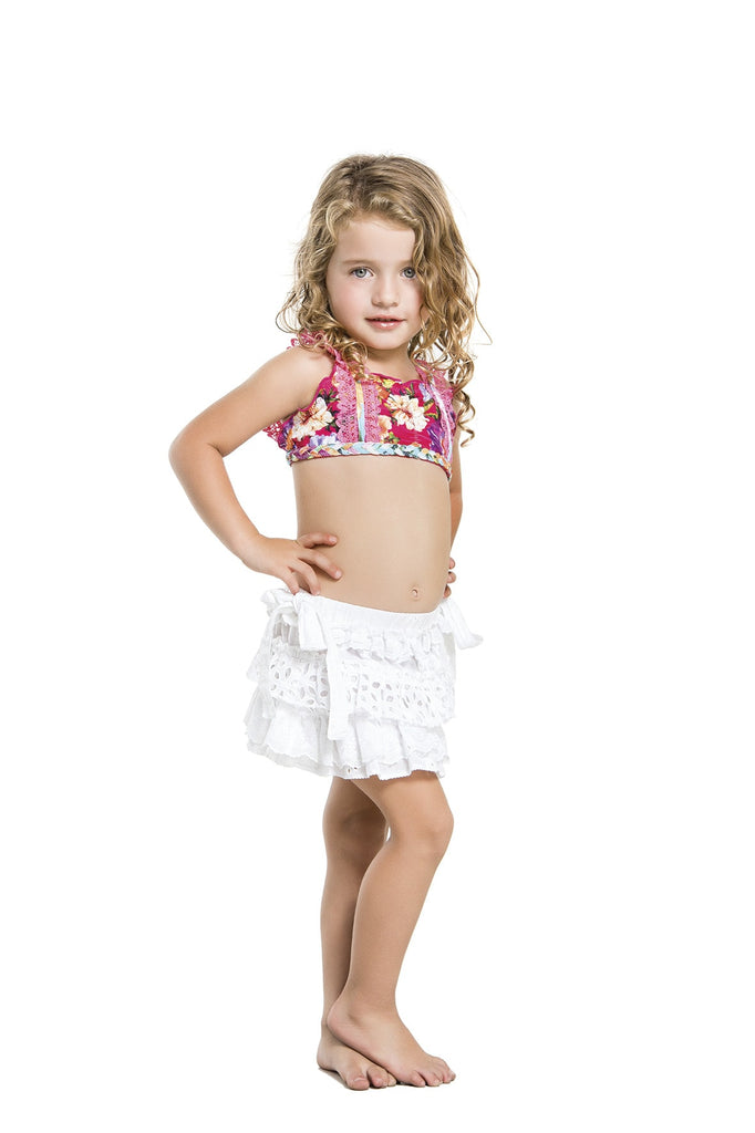 Highend Kids Skirt - Agua Bendita