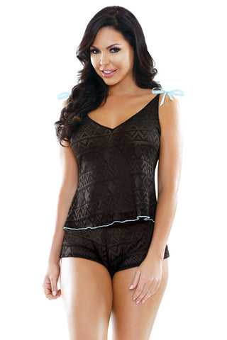 highend cami shorts set