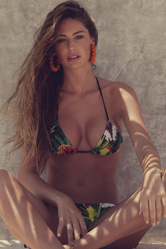 Jungle Print Bikini - Agua Bendita