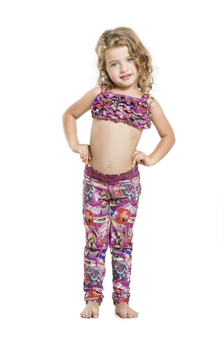 Kids Leggings - Agua Bendita