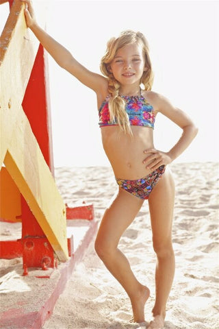 Peixoto Kids Printed Bikini Set