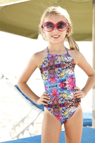 Designer Kids Printed One Piece