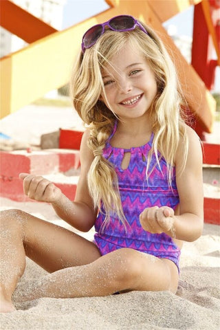 Peixoto Kids ZigZag One Piece