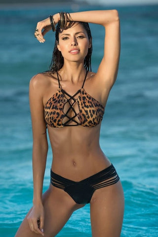 Luxury Lace Up Bikini - Bikini Luxe