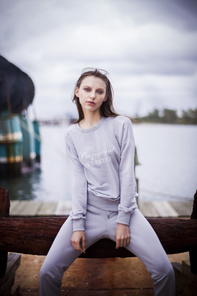 Karma For A Cure Jet-Set | Loungewear Sweatshirt