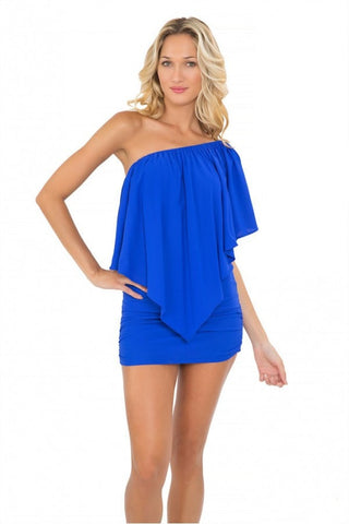 Luli Fama Party Dress - Blue