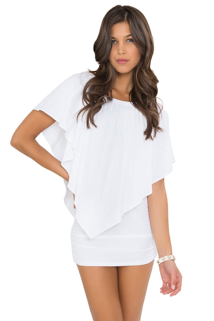 White party dress - Luli Fama