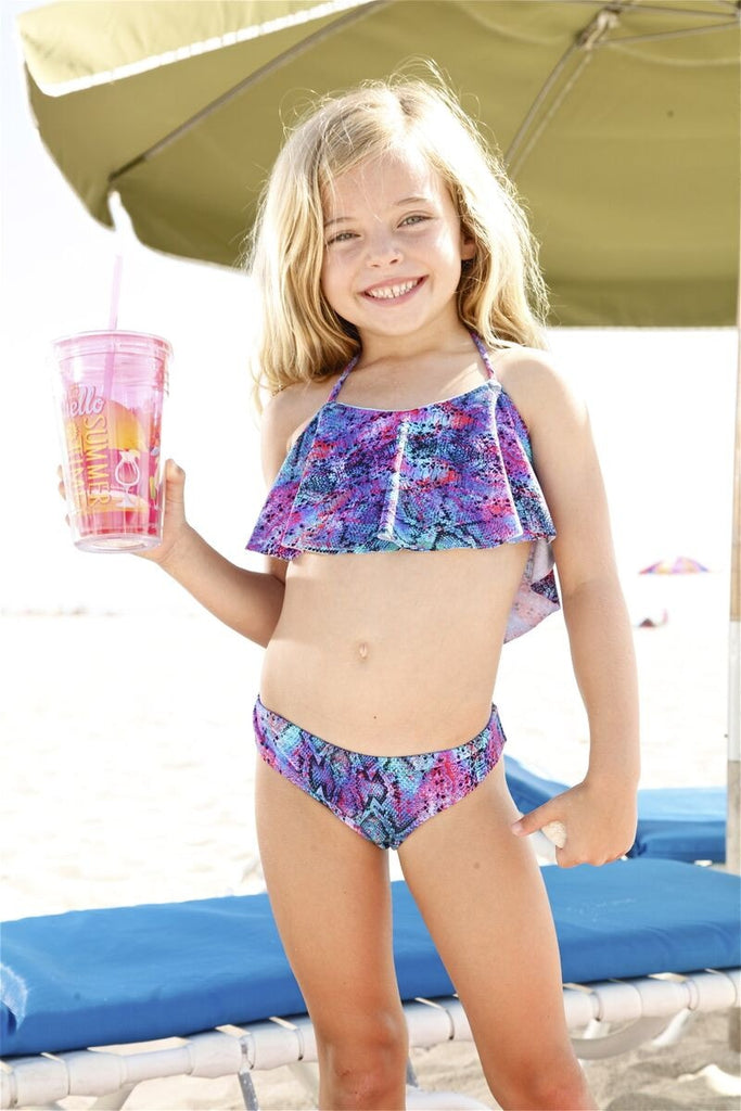 Peixoto Luxury Kids Snake Bikini