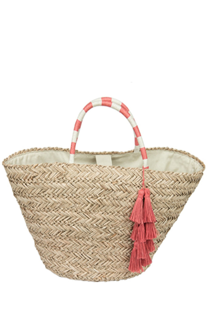 Luxury Straw Tote