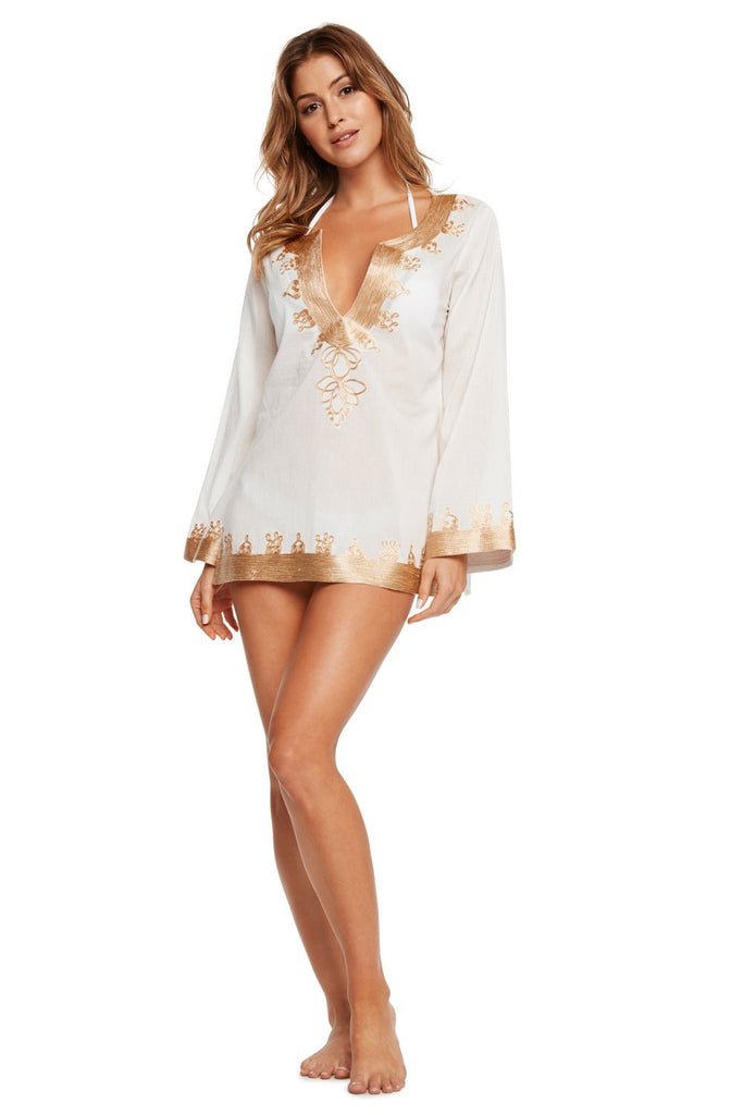 Luxury White Tunic