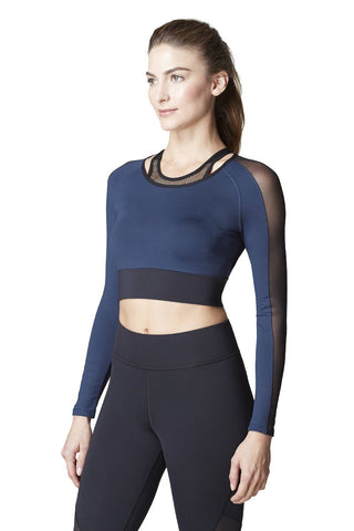 Luxury workout top