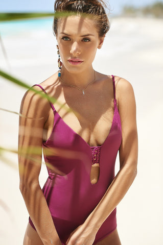 Malai Swimwear Macrame One Piece