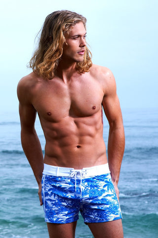 Mens Designer Swim Trunks