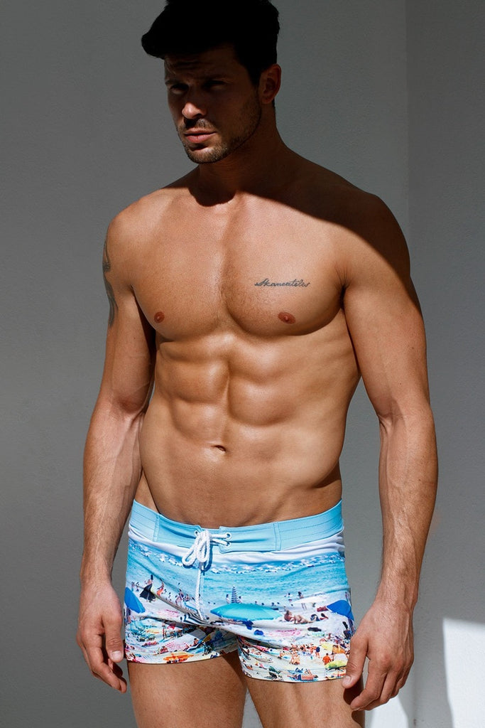Mens Sauvage Key West Swim Shorts