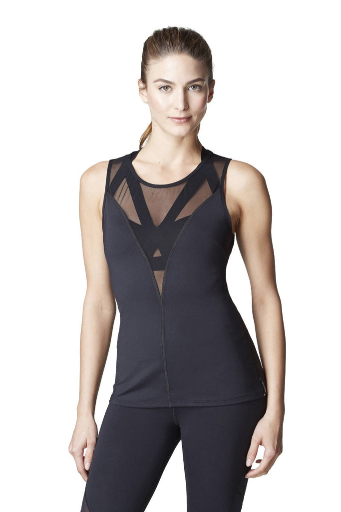 Michi Black Ametrine Top
