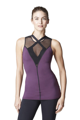 Michi Ametrine Plum Top