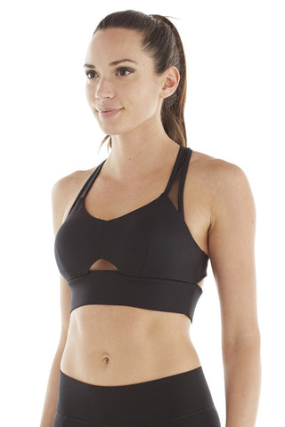 Michi Wildcat Bra Black