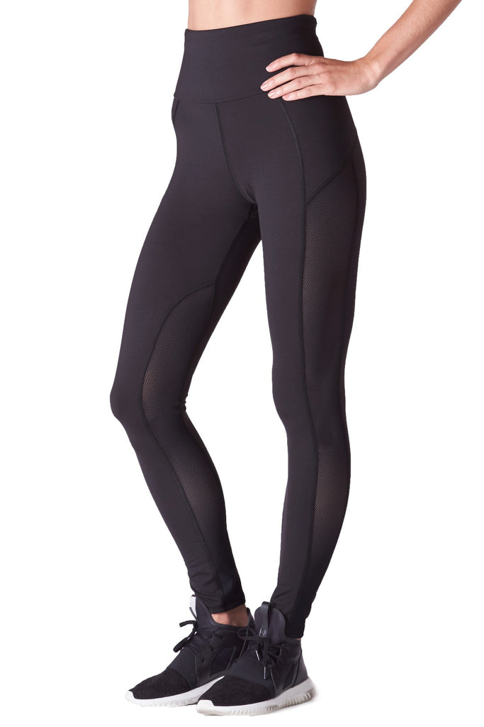Michi Black Summit Leggings | High Waist Designer Leggings