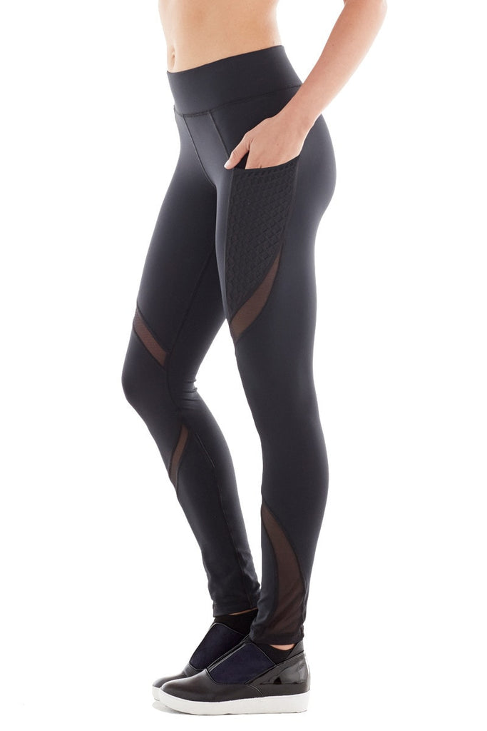 Black Michi Leggings