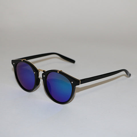Blue Lense Sunglasses - Mirrored Sunglasses