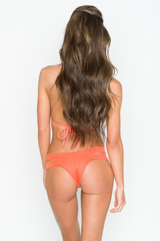 Montce Swim Naranja Euro Bottom