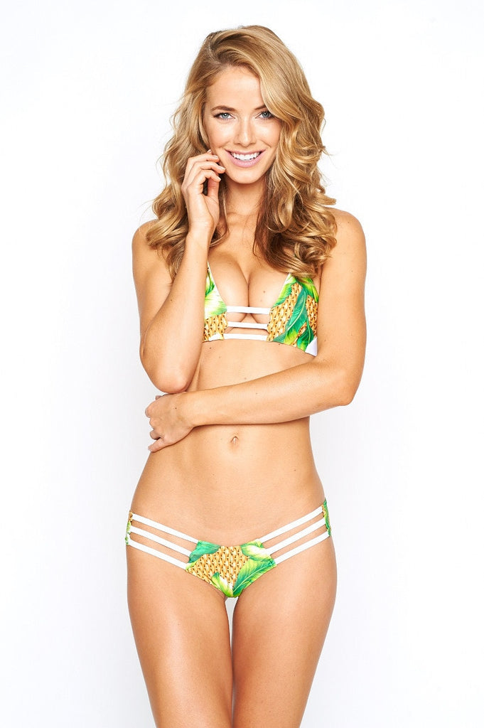 Montce Swim Triple String Bikini