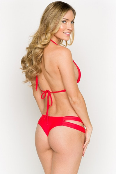 170b5d06b8485 Montce Swim Red Euro Bikini Set