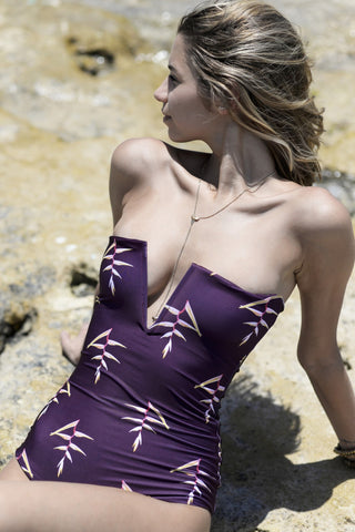Nirvanic Swim Damia One Piece - Heliconia